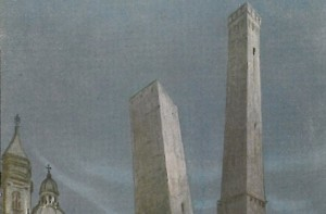Garisenda. The leaning tower