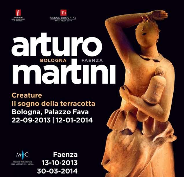 """""""Arturo Martini. Creature, il sogno della terracotta"""" a Palazzo Fava, Bologna"""