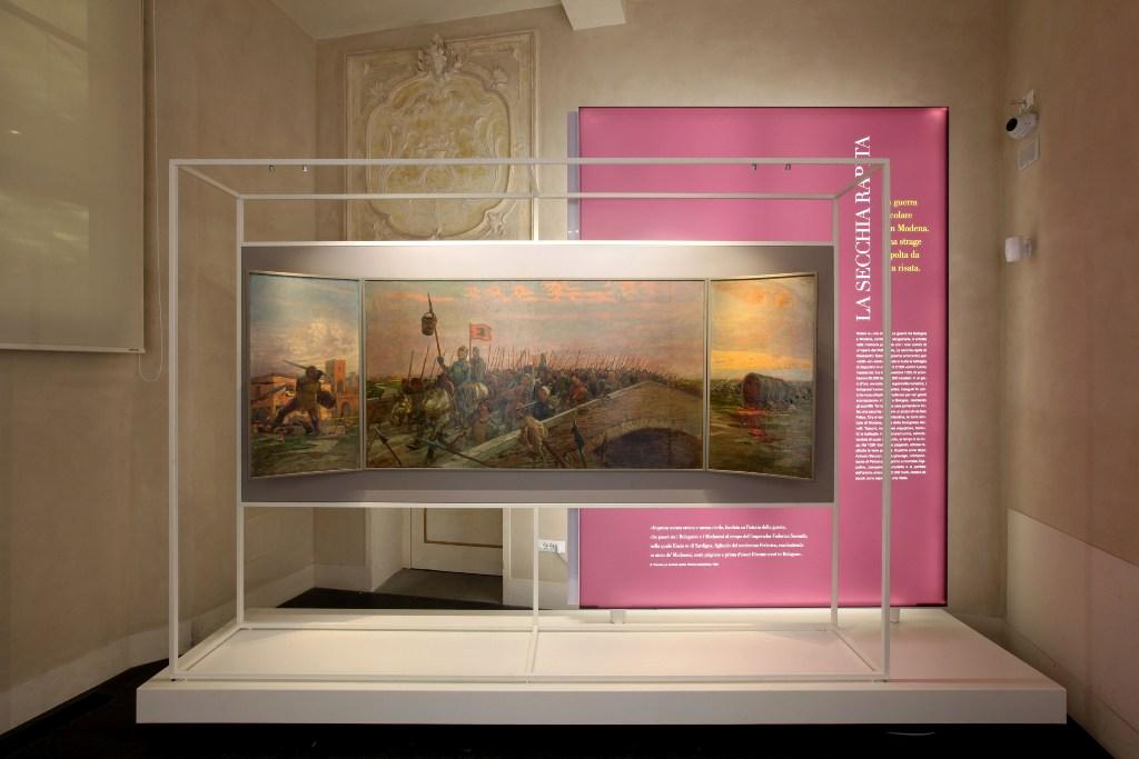 La secchia rapita, Museo della Storia di Bologna in Palazzo Pepoli