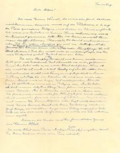 """Albert Einstein, un """"curioso appassionato""""  a Bologna"""