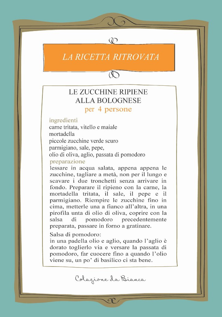 Zucchine alla bolognese