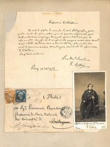 Lettera di Gioacchino Rossini a Giovanni Capellini