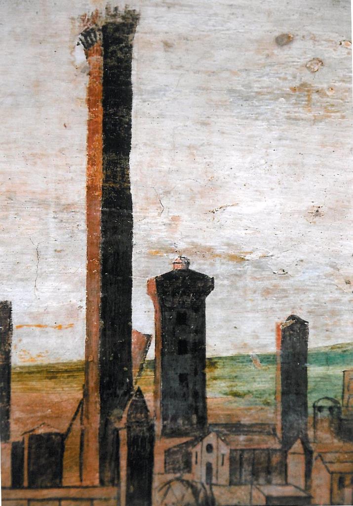 Madonna Terremoto, torre Bentivoglio