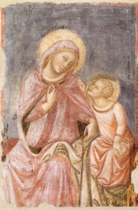 Madonna del ricamo di Vitale da Bologna al Mar di Ravenna