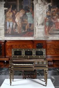La spinetta della famiglia Cenci Bolognetti a San Colombano