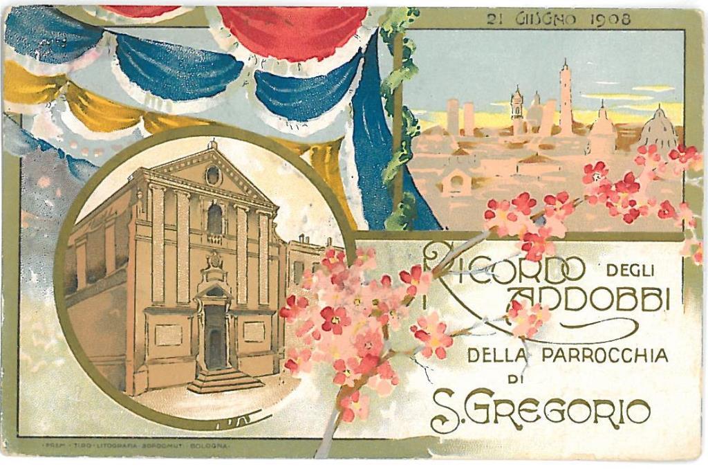 addobbi di San Gregorio 1908
