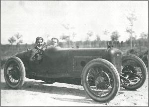 1922 Alfieri ed Ernesto Maserati a Monza - Copia