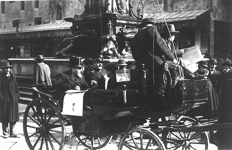 Giuseppe Ceri in carrozza