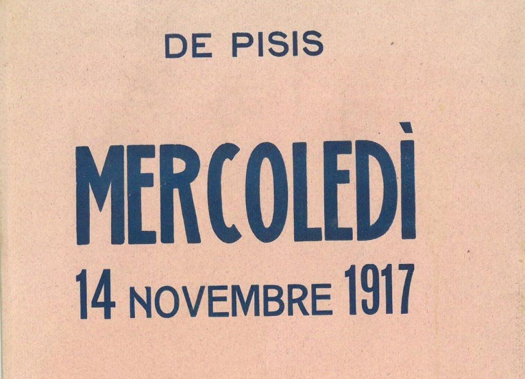 copertina racconto De Pisis