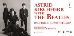 Astrid with the Beatles a Palazzo Fava